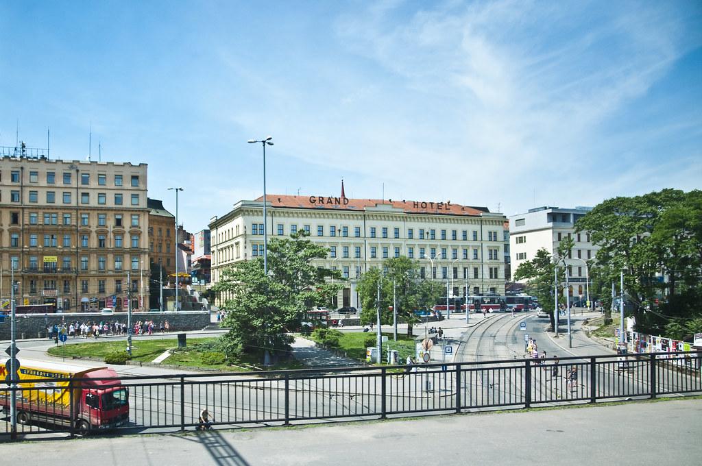 Grand Hotel at Brno
