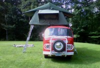 VW Bus with Roof Top Tent | Flickr - Photo Sharing!