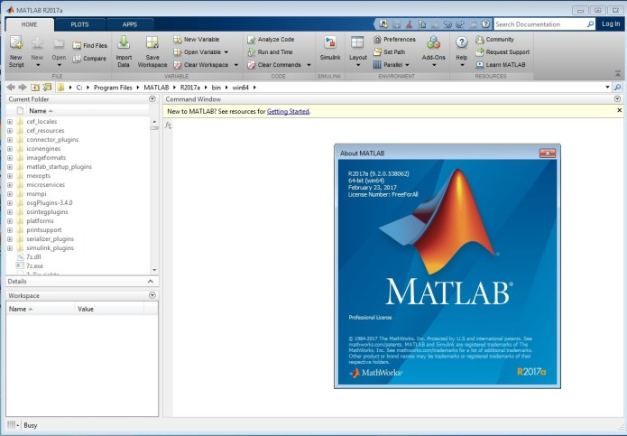 Mathworks Matlab R2017a Build 9.2.0.538062 x64 full