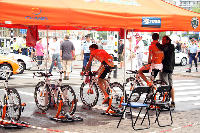 Warm up like the pros before your triathlon practice or ironman training