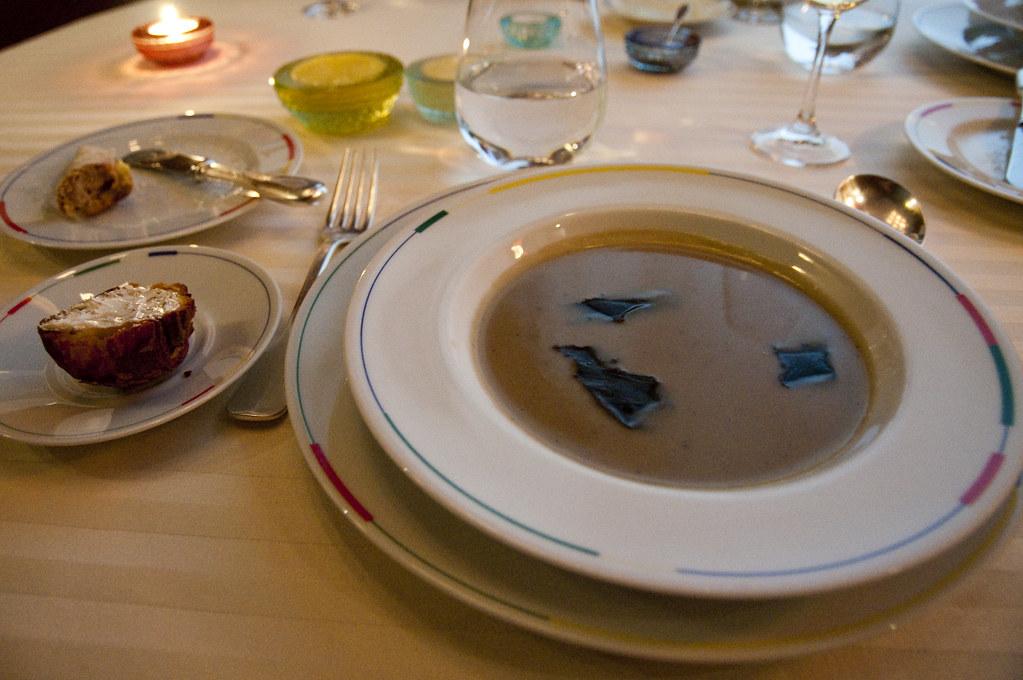 Artichoke and Truffle Soup