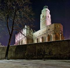 Kościół św. Jana Ewangelisty nocą 1