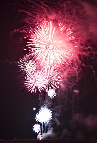 fireworks, July 4, 2010