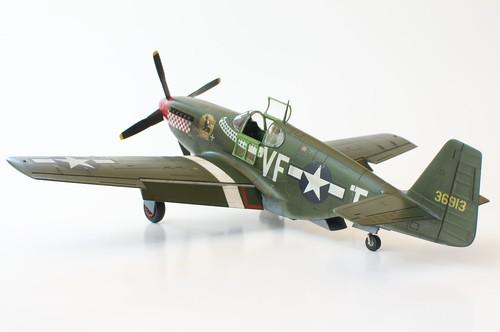 P-51B - Rear 3/4