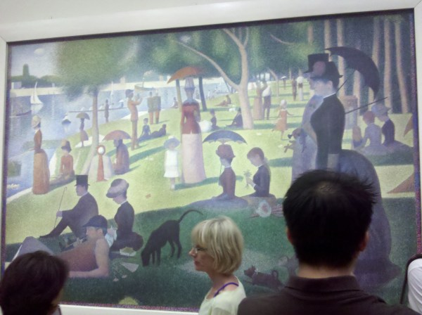 Seurat Sunday Afternoon. Art Institute Of Chicago