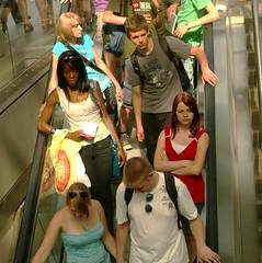 escalator, Berlin