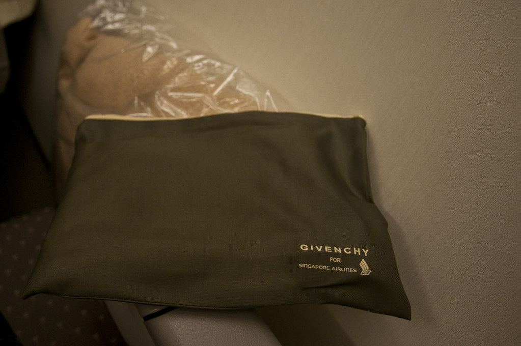 Amenity Kit for Economy Class Passengers