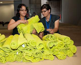 Voluntarias en la Campus Party de México