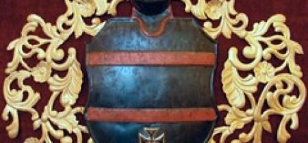 Escudos heraldicos Castillo en Olsztyn Polonia 02