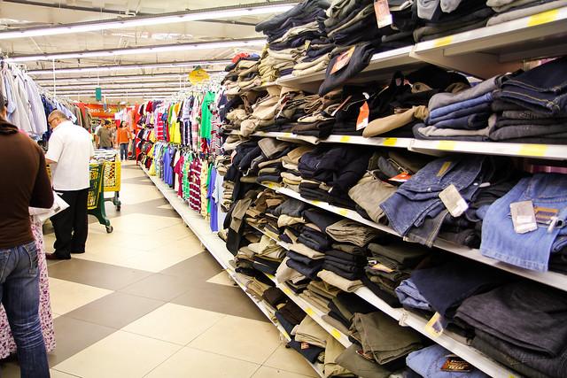 Cheap clothes galore