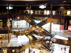 Mall of America Escalators