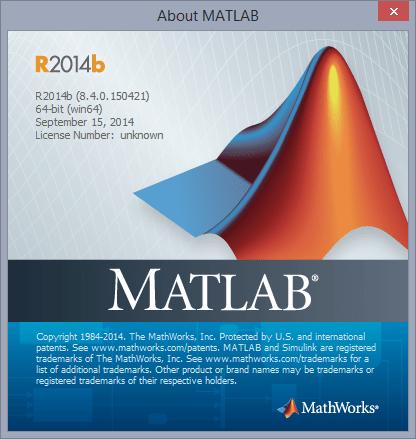 MATLAB R2014b (8.04) Windows x64