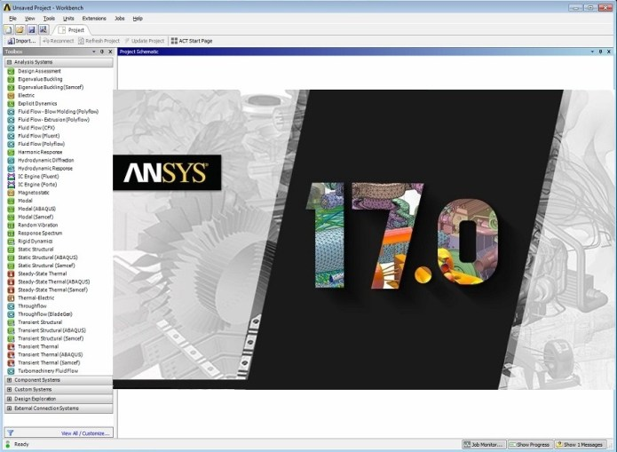 ANSYS Products 17.0 Tutorials