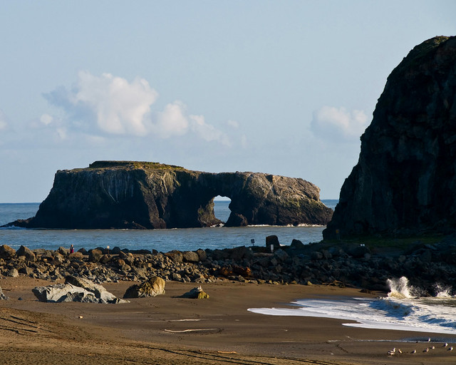 Arched Rock Goat Rock Beach Jenner Beach  Flickr