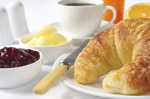 Croissant Breakfast by condedeviena