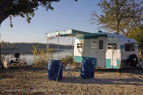 Salamonie Reservoir - Lost Bridge SRA - Campsite 239