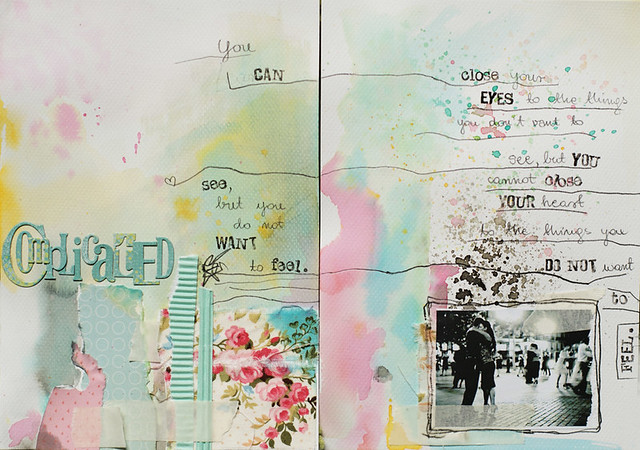 89/365 :: art journal :: it's complicated