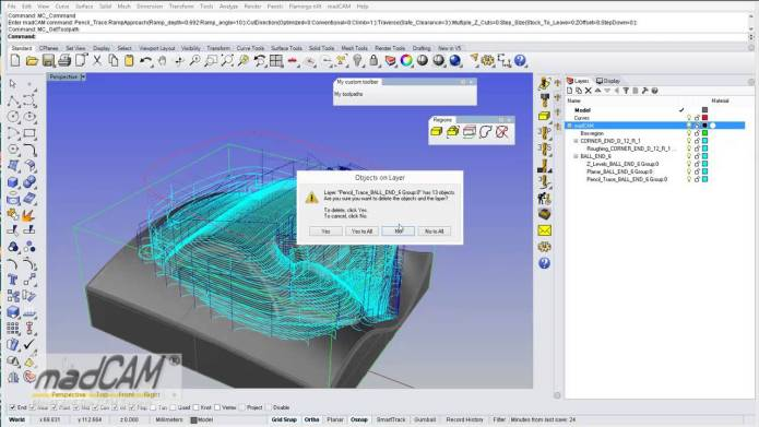 Create toolpath with madCAM 5.0 2013-12-17 x86 x64 full