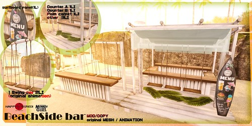 [HDxMG]Beach side bar ad