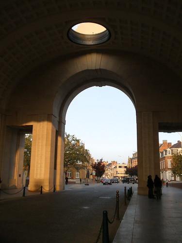 The Ypres salient, Belgium. Menin Gate, Ypres