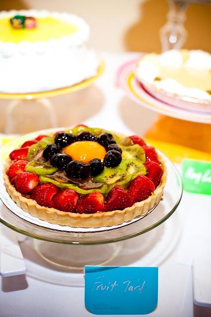 Fruit tart YUM
