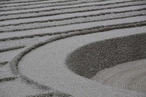 Sand Garden in Ginkaku-ji (Silver Pavilion)