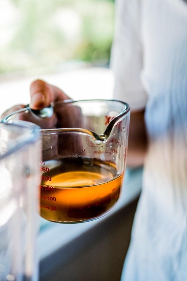 subtly shining sweet cinnamon simple syrup