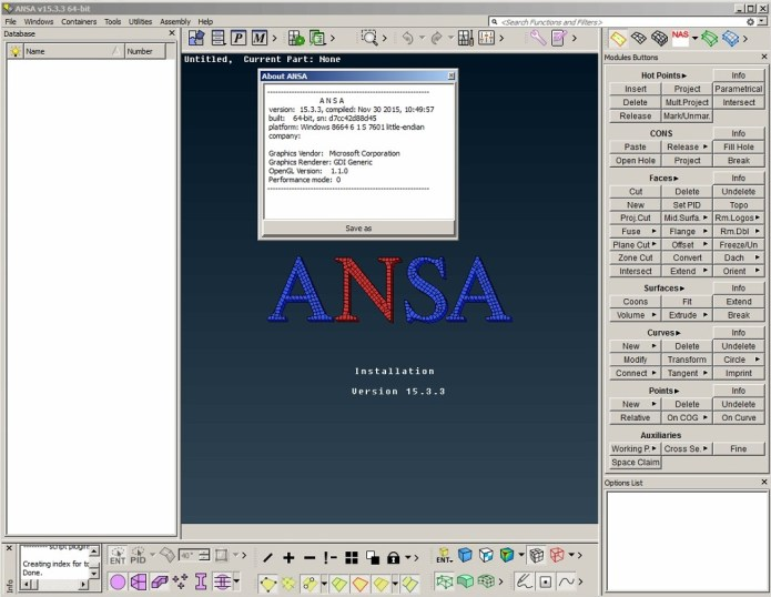 Working with BETA CAE ANSA v15.3.3 full crack