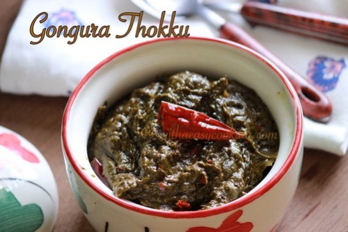 Gongura Thokku2