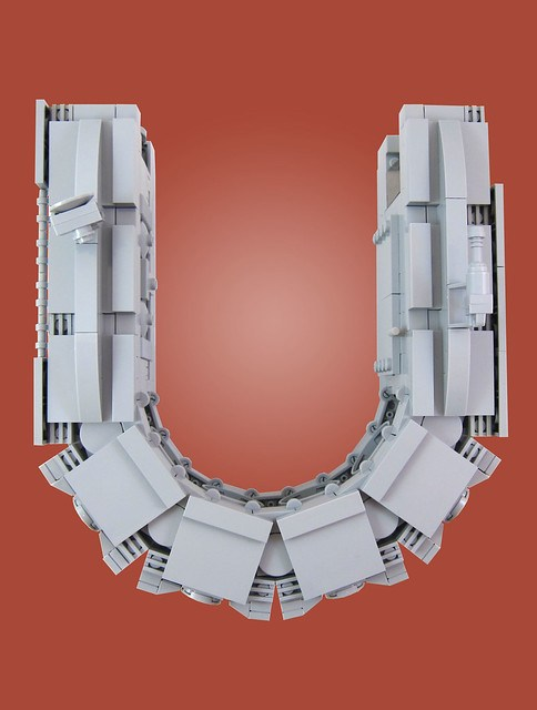 MOC-028 LEGO U Spaceship