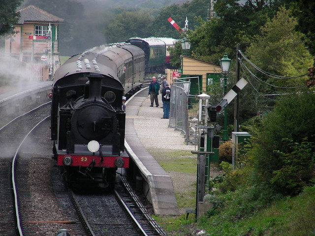 Harmans Cross Steam Train-Corfe Castle to Swanage