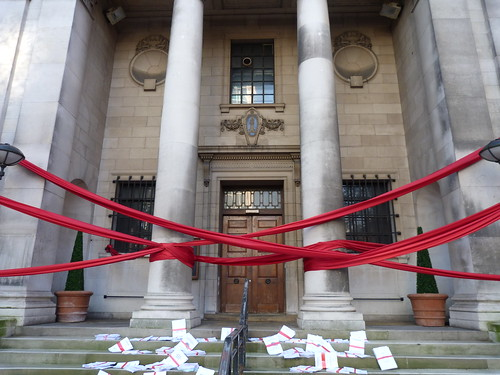Westminster Council House tied up in red tape