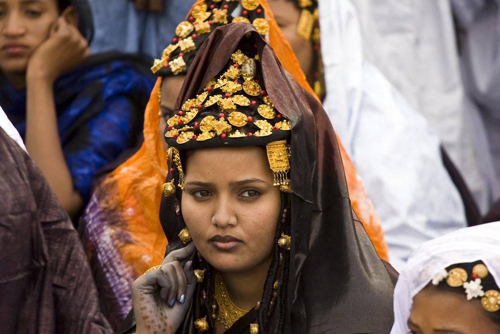Tuareg woman, mali