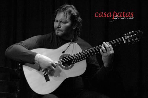 Camarón de Pitita a la guitarra. Foto: Martín Guerrero