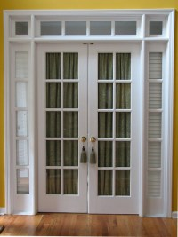 French Door Window Treatments | Casual Cottage