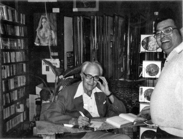 02 Fritz Leiber Jr at A Change of Hobbit 26-Feb-1977 01