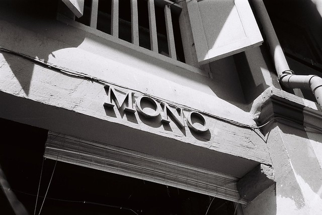 Mono: how apparent for this photo.