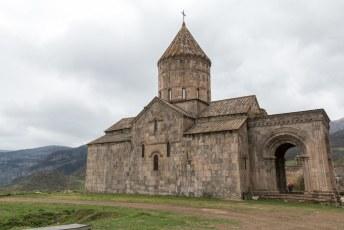 Het klooster van Tatev is gebouwd in de 9de eeuw.