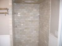 marble subway tile shower | Flickr - Photo Sharing!