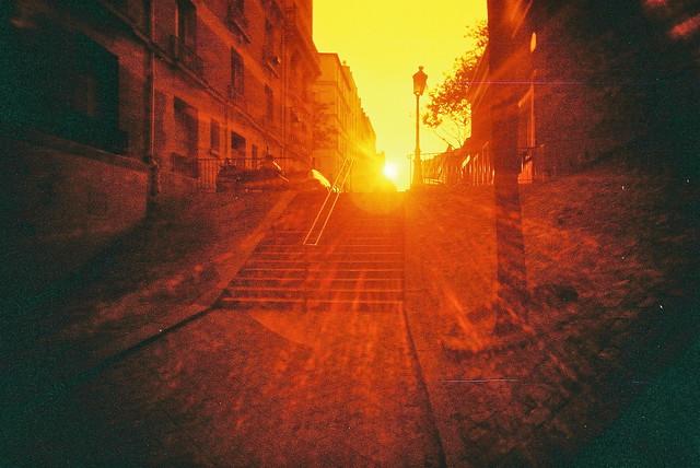 Paris flare steps