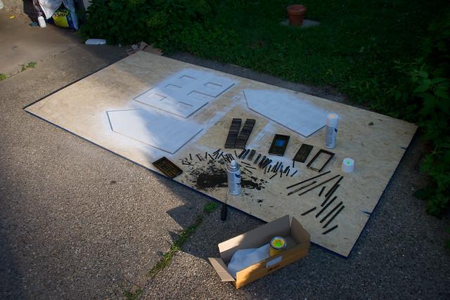 Farmhouse Dollhouse Kit