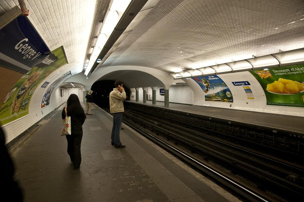 George V Metro Station