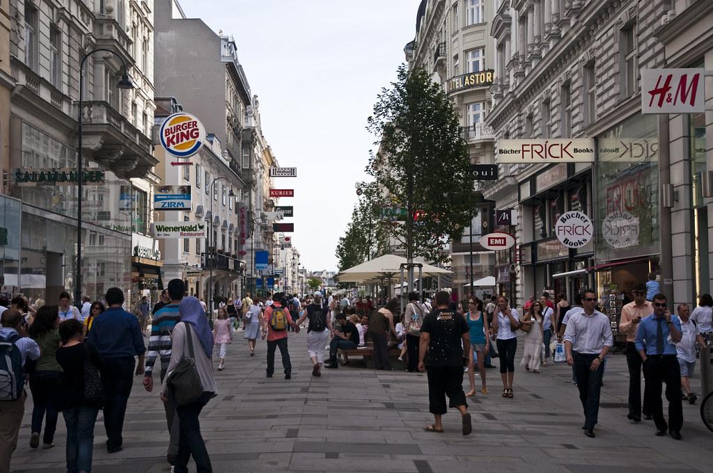 Kärntner Straße in Vienna