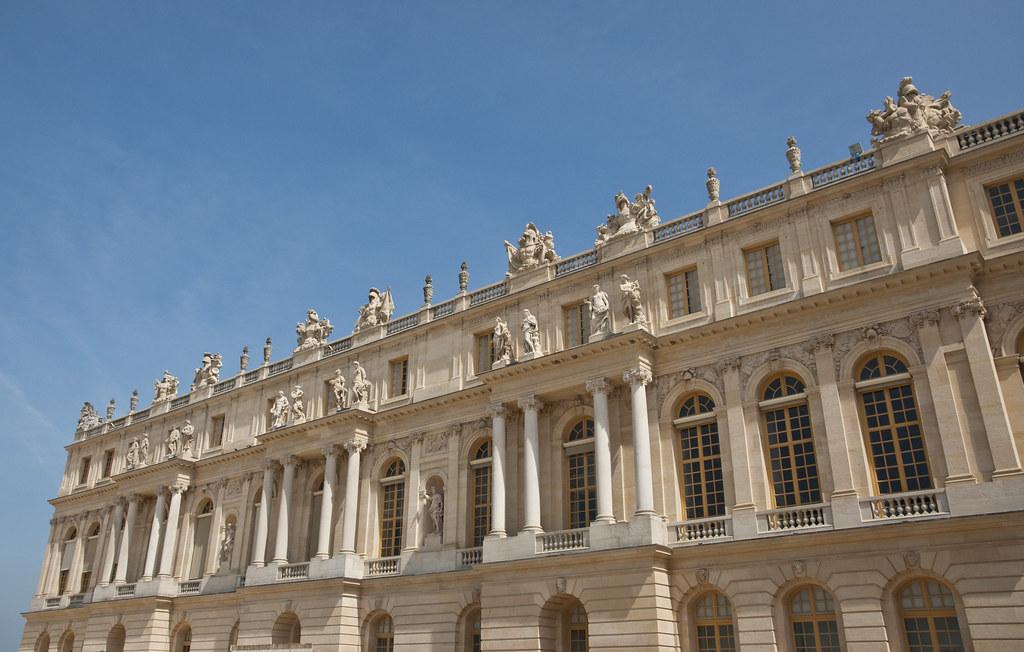 Exterior of the Grand Appartement de la reine