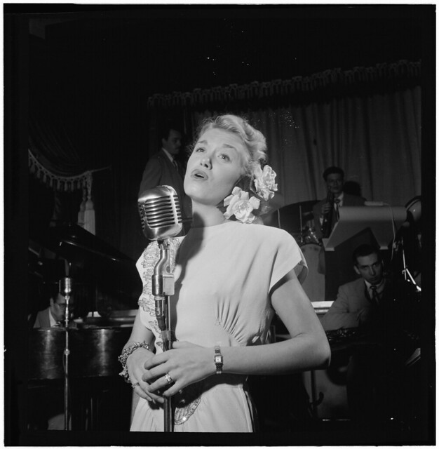 [Portrait of June Christy and Red Rodney, Club Troubadour, New York, N.Y., ca. Sept. 1947] (LOC)