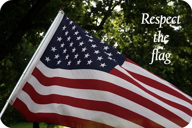 Respect the Flag
