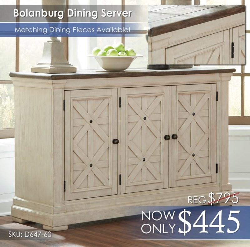 Bolanburg Dining Server wNoClick