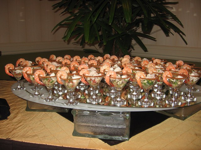 Wedding Hors dOeuvres  Ceviche Martinis  Flickr