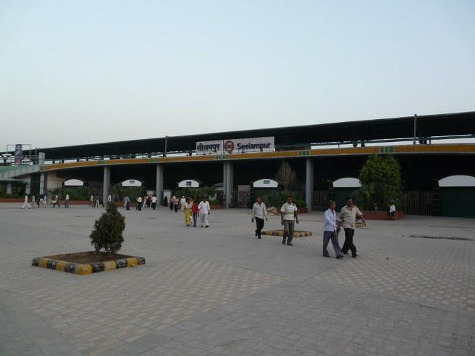 Seelampur Metro Station