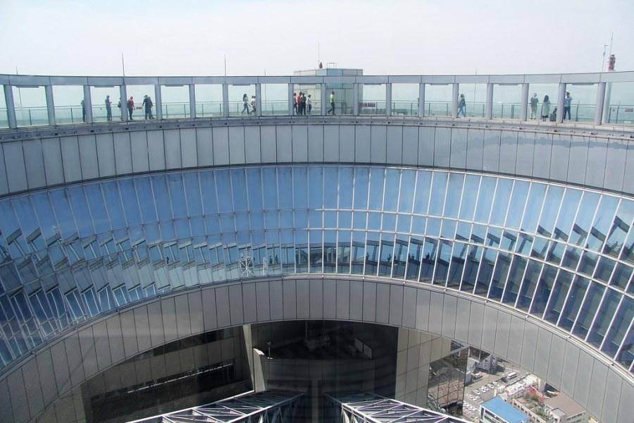 plateforme observatoire umeda sky building